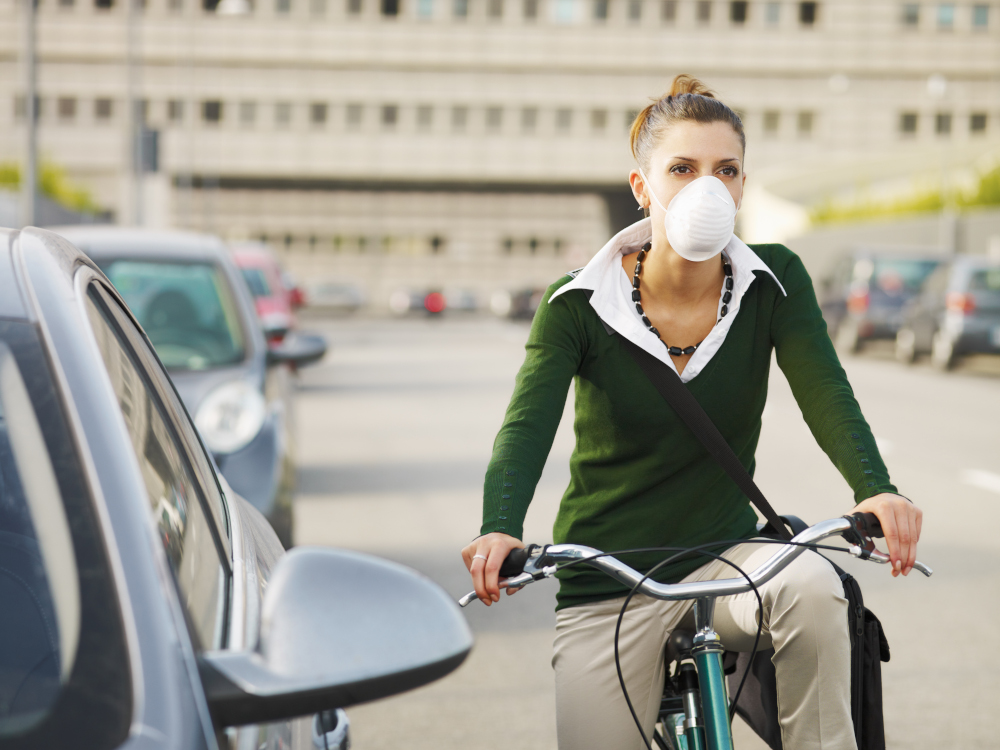 filtro trattamento aria smog traffico
